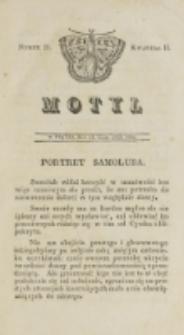 Motyl. Kwartał 2, nr 21 (25 lipca 1828)