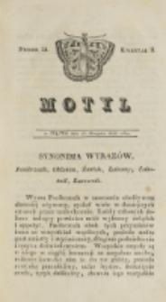 Motyl. Kwartał 2, nr 24 (15 sierpnia 1828)