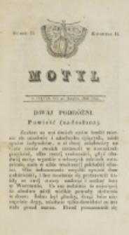 Motyl. Kwartał 2, nr 25 (22 sierpnia 1828)