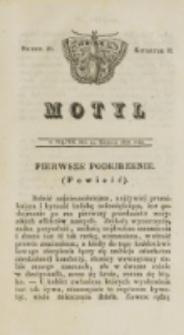 Motyl. Kwartał 2, nr 26 (29 sierpnia 1828)
