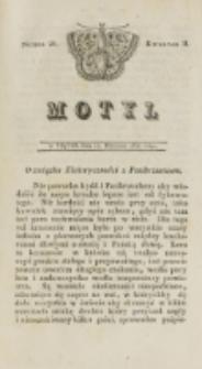 Motyl. Kwartał 2, nr 28 (12 września 1828)