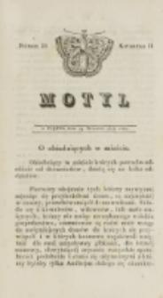 Motyl. Kwartał 2, nr 29 (19 września 1828)