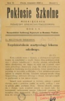Pokłosie Szkolne. R. 2, z. 1 (1928)