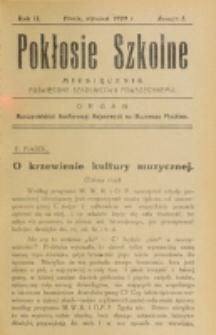 Pokłosie Szkolne. R. 2, z. 5 (1929)
