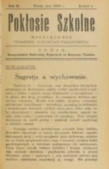 Pokłosie Szkolne. R. 2, z. 6 (1929)