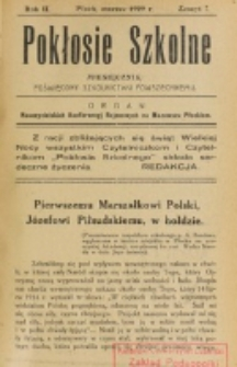 Pokłosie Szkolne. R. 2, z. 7 (1929)