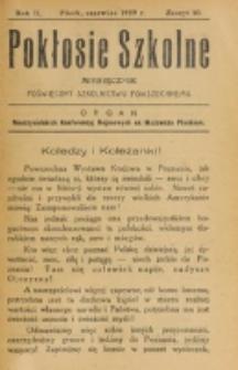 Pokłosie Szkolne. R. 2, z. 10 (1929)