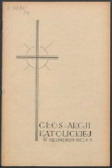 Głos Akcji Katolickiej Archidiecezji Lwowskiej. R. 4, nr 12 (1938)