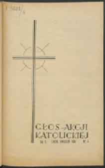 Głos Akcji Katolickiej Archidiecezji Lwowskiej. R. 5, nr 4 (1939)
