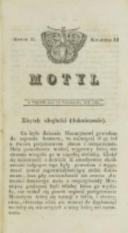 Motyl. Kwartał 3, nr 32 (17 października 1828)