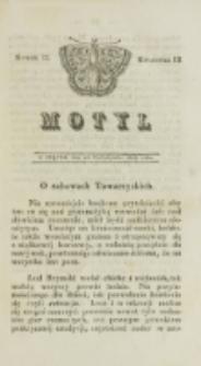 Motyl. Kwartał 3, nr 33 (24 października 1828)