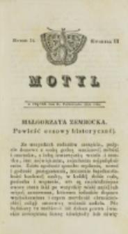 Motyl. Kwartał 3, nr 34 (31 października 1828)