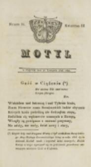 Motyl. Kwartał 3, nr 38 (28 listopada 1828)