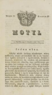 Motyl. Kwartał 3, nr 39 (5 grudnia 1828)