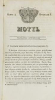 Motyl. Kwartał 1, nr 1 (2 stycznia 1829)