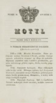 Motyl. Kwartał 1, nr 10 (6 marca 1829)