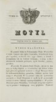 Motyl. Kwartał 1, nr 12 (20 marca 1829)