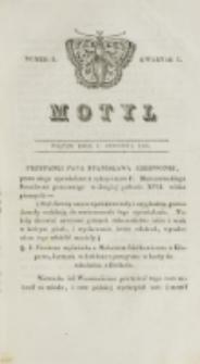 Motyl. Kwartał 1, nr 2 (9 stycznia 1829)