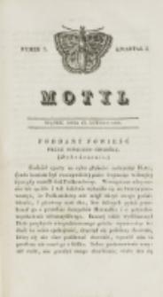 Motyl. Kwartał 1, nr 7 (13 lutego 1829)