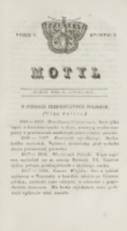 Motyl. Kwartał 1, nr 8 (20 lutego 1829)