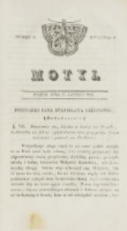 Motyl. Kwartał 1, nr 9 (27 lutego 1829)