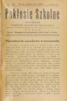 Pokłosie Szkolne. R. 3, z. 2 (1929)