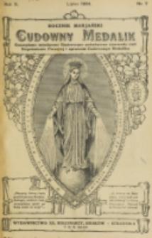 Rocznik Mariański. R. 10, nr 7 (1934)