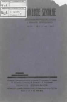 Pokłosie Szkolne. R. 7, nr 6 (1934)