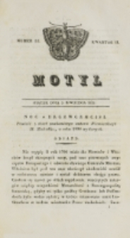 Motyl. Kwartał 2, nr 14 (3 kwietnia1829)