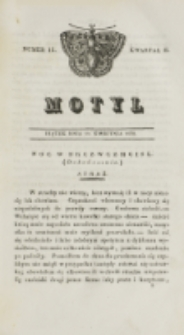 Motyl. Kwartał 2, nr 15 (10 kwietnia 1829)
