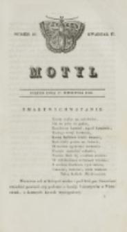 Motyl. Kwartał 2, nr 17 (24 kwietnia 1829)