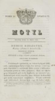 Motyl. Kwartał 2, nr 22 (29 maja 1829)