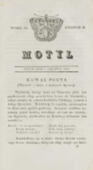 Motyl. Kwartał 2, nr 23 (5 czerwca 1829)