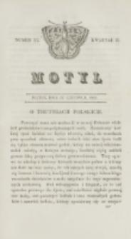 Motyl. Kwartał 2, nr 24 (12 czerwca 1829)