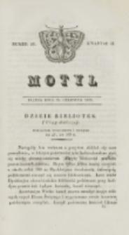 Motyl. Kwartał 2, nr 25 (19 czerwca 1829)