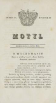 Motyl. Kwartał 3, nr 27 (3 lipca 1829)