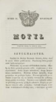 Motyl. Kwartał 3, nr 28 (10 lipca 1829)