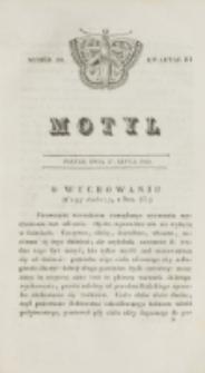 Motyl. Kwartał 3, nr 29 (17 lipca 1829)