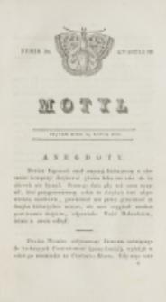 Motyl. Kwartał 3, nr 30 (24 lipca 1829)