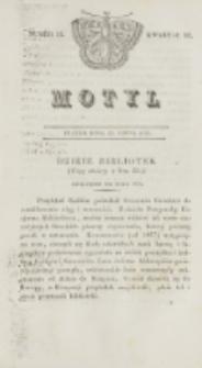 Motyl. Kwartał 3, nr 31 (31 lipca 1829)