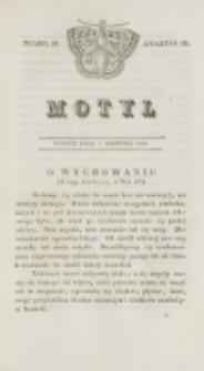 Motyl. Kwartał 3, nr 32 (7 sierpnia 1829)