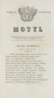 Motyl. Kwartał 3, nr 33 (14 sierpnia 1829)