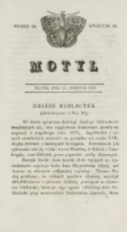 Motyl. Kwartał 3, nr 34 (21 sierpnia 1829)