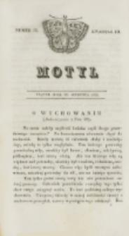 Motyl. Kwartał 3, nr 35 (28 sierpnia 1829)