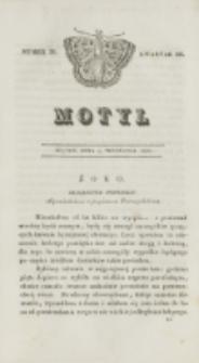 Motyl. Kwartał 3, nr 36 (4 września 1829)