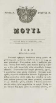Motyl. Kwartał 3, nr 38 (18 września 1829)