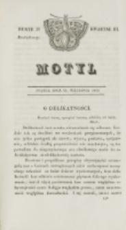 Motyl. Kwartał 3, nr 39 (25 września 1829)