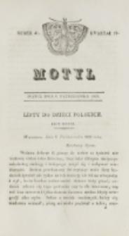 Motyl. Kwartał 4, nr 41 (9 października 1829)
