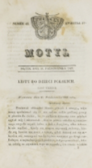 Motyl. Kwartał 4, nr 42 (16 października 1829)