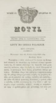 Motyl. Kwartał 4, nr 43 (23 października 1829)